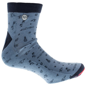 Men`s Wharf Tennis Socks Provincial Blue