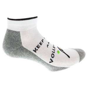 Women`s Volley on Tennis Socks White and Gray