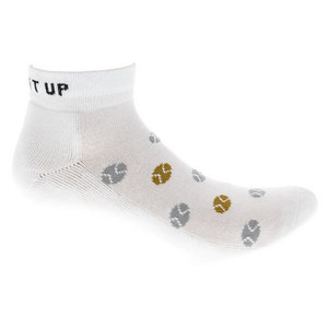Women`s Serve It Up Tennis Socks White