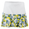 LUCKY IN LOVE Women`s Long Denim Days Petal Tennis Skort Print