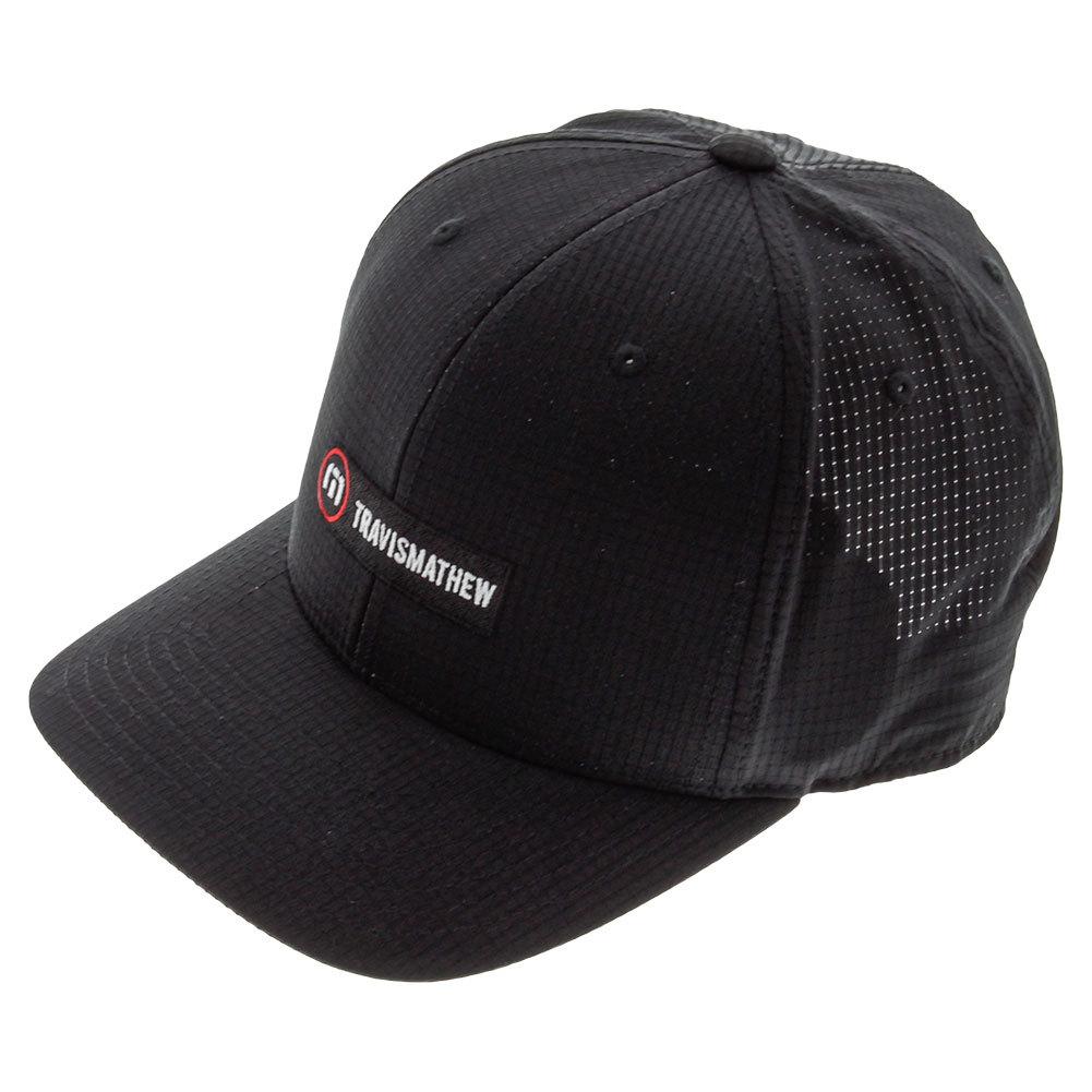 Men's Bungalow 7 Tennis Cap Black