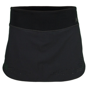 NEW BALANCE WOMENS WOVEN SKORT BLACK