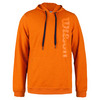 WILSON Men`s Pull Over Tennis Hoodie Clementine Heather