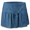 LUCKY IN LOVE Women`s Cargo Tennis Skort Chambray