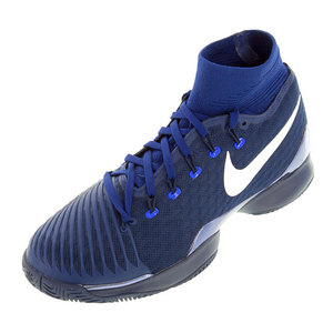 Men`s Air Zoom Ultrafly Tennis Shoes Loyal Blue and Deep Royal Blue