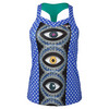 Women`s Marion Bartoli Court Central Tennis Tank 473_EVIL_EYE_POLKADT