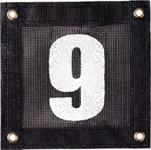 TOURNA COURT WINDSCREEN NUMBER 9