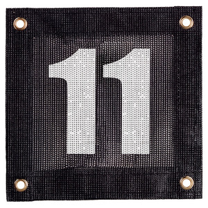 TOURNA COURT WINDSCREEN NUMBER 11
