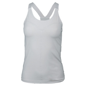 Women`s V for Victory Tennis Top White