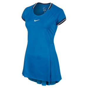 Women`s Premier Tennis Dress Light Photo Blue