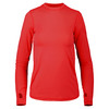 Women`s 24/7 Long Sleeve Tennis Crew RED