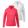 BLOQUV Women`s Mock Zip Tennis Top