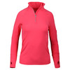 Women`s Mock Zip Tennis Top WATERMELON