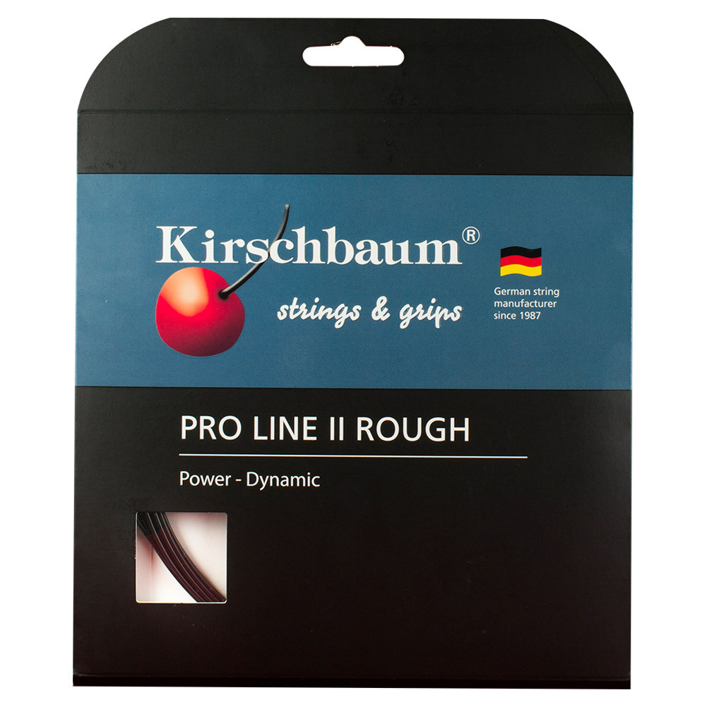 tennis express kirschbaum pro line ii rough tennis string. Black Bedroom Furniture Sets. Home Design Ideas