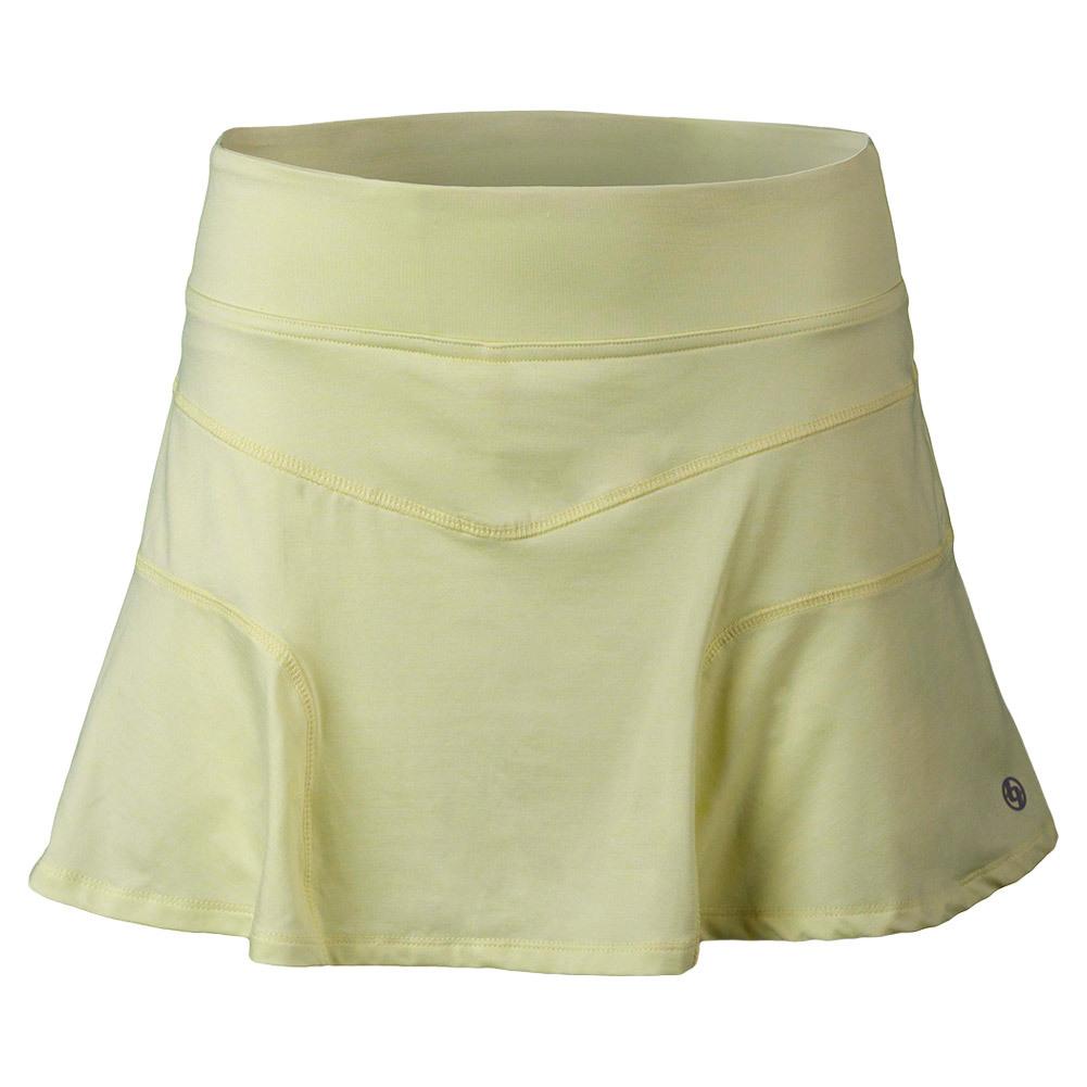 Women's Upward Force Tennis Skirt Heather Peridot