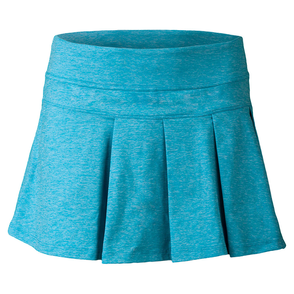 Women's Modern Pleated Tennis Skort Heather Topaz