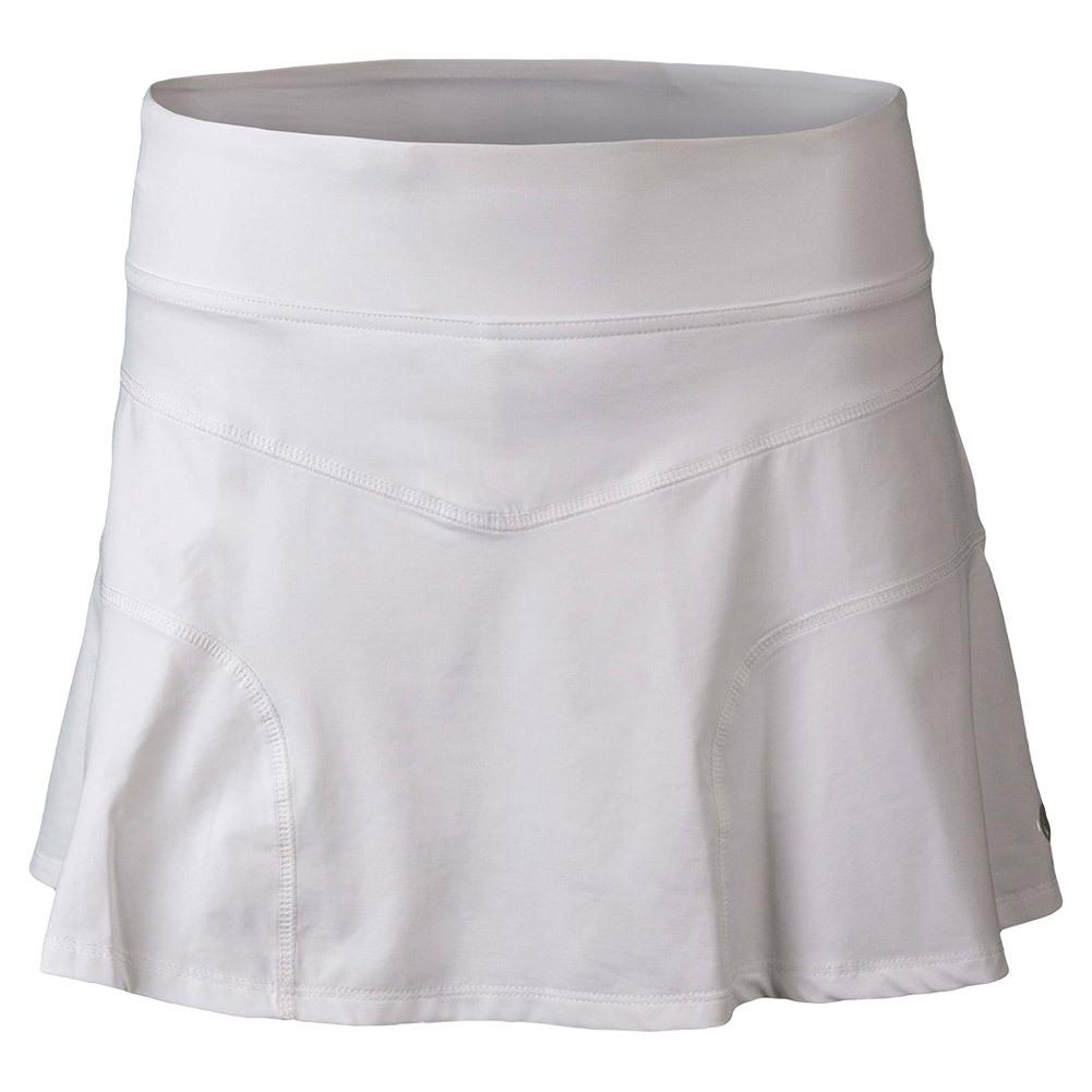 Women's Upward Force Tennis Skirt White