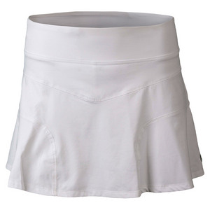 Women`s Upward Force Tennis Skirt White