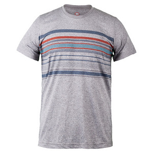 TRAVISMATHEW MENS DEMARCO TENNIS CREW HTHR LIGHT GRAY