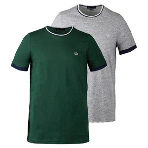 Men`s Tipped Ringer Tennis Tee