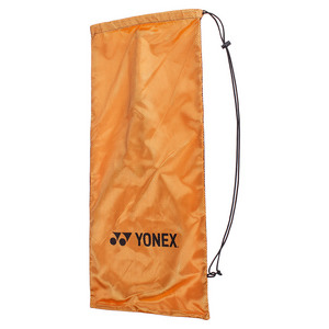 Drawstring Vinyl Tennis Racquet Cover (orange)