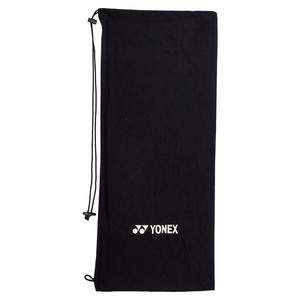 Drawstring Cloth Tennis Racquet Cover (black)