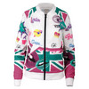 Women`s Marion Bartoli Court Central Tennis Jacket 101_WHT_LONDON_PRINT
