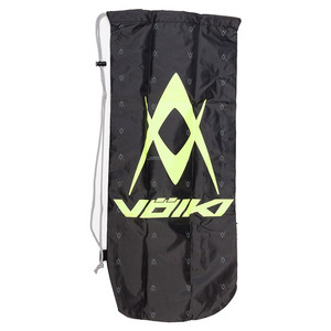 Drawstring Tennis Racquet Cover (Lime/Blk)