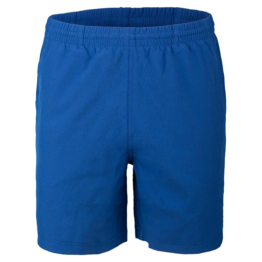 Men's Seasonal Solid 7 Inch Tennis Short Royal Blue