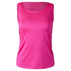 Women`s Uma Tennis Tank Siren Pink