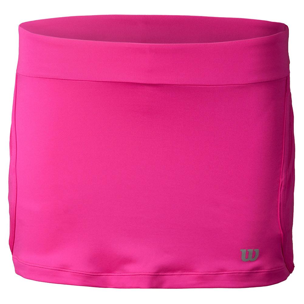 Women's Sporty 12.5 Inch Tennis Skort Pink Glo