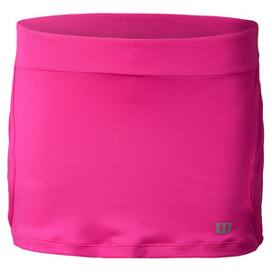 Women`s Sporty 12.5 Inch Tennis Skort Pink Glo