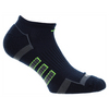 ADIDAS Men`s Climalite II No Show 2 Pack Socks Collegiate Navy and Onyx