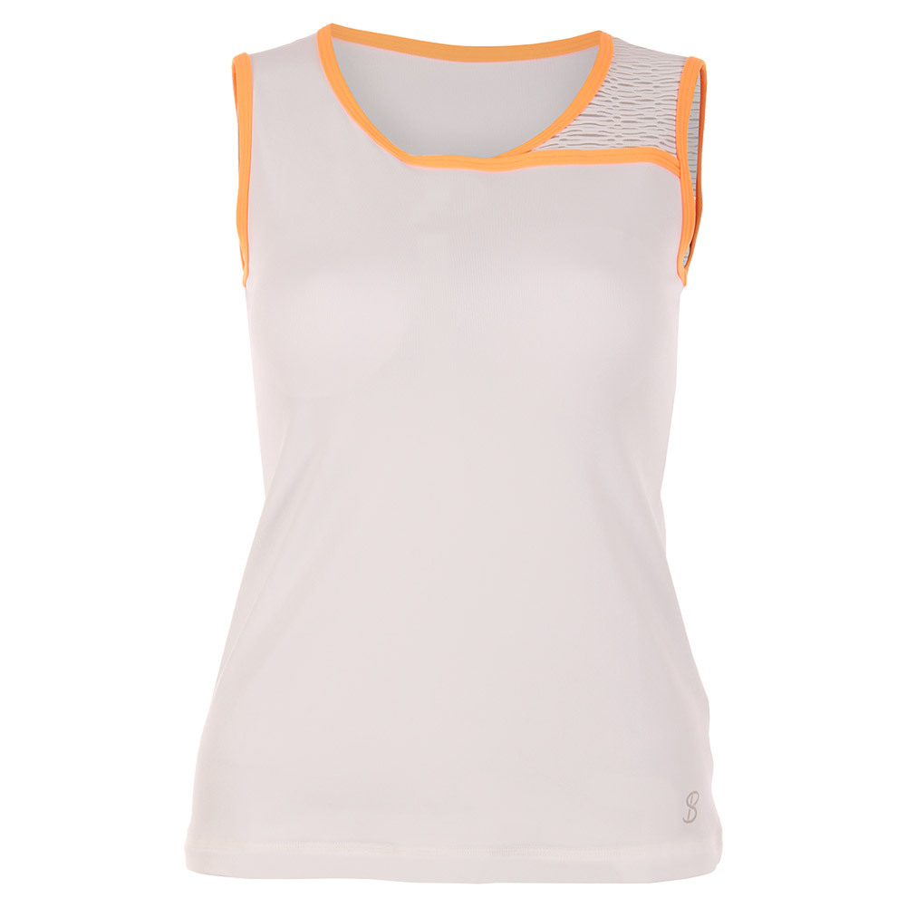 Women's Classic Tennis Sleeveless Top White