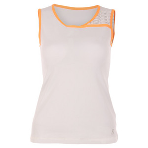 Women`s Classic Tennis Sleeveless Top White