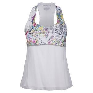 Women`s Racerack Tennis Tank Blue