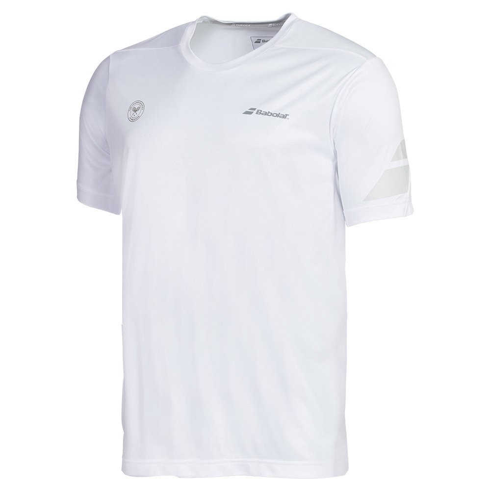Boys ` Perf Crew Neck Tennis Tee