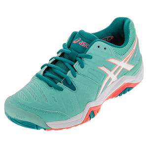 Women`s Gel-Challenger 10 Tennis Shoes Cockatoo and White