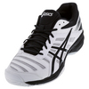 ASICS Men`s Gel-Solution Slam 3 Tennis Shoes White and Black