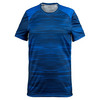 SOLFIRE Men`s Traces Dimension Tennis Crew Turkish Blue