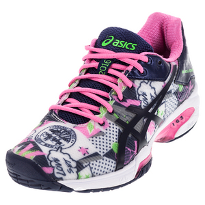ASICS WOMENS GEL-SOL SPD 3 LE NYC TNS SHOES