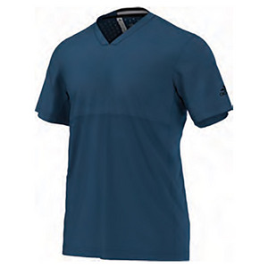 Men`s Climachill Tennis Tee Tech Steel