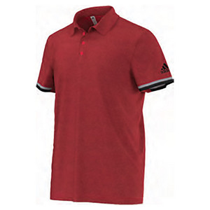 Men`s Climachill Tennis Polo Chill Ray Red
