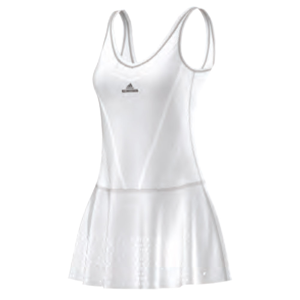 Women's Stella Mccartney Barricade Primeknit Tennis Dress White