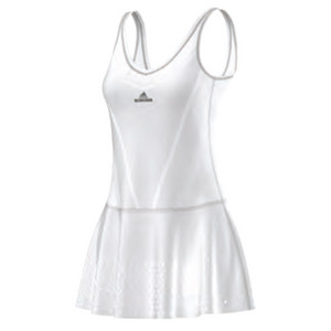 Women`s Stella McCartney Barricade Primeknit Tennis Dress White