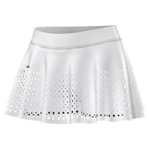 adidas WOMENS SM BARR TNS SKORT WHITE