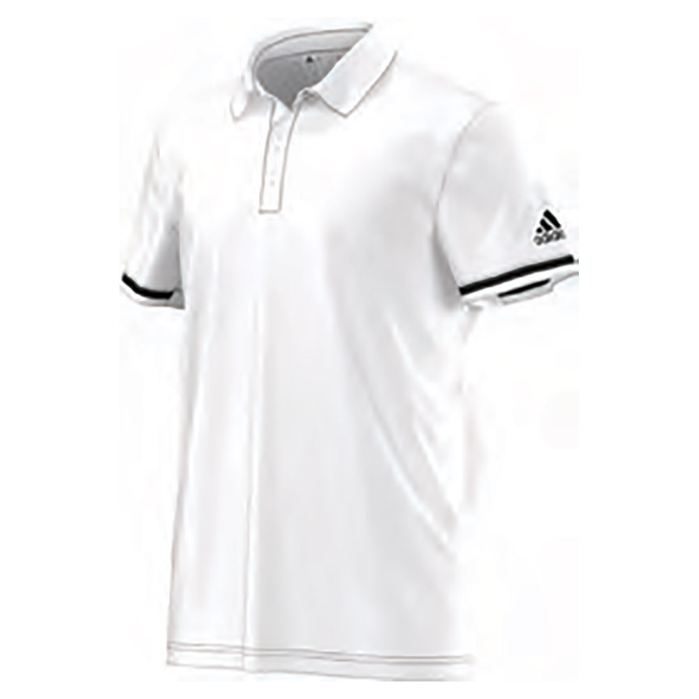 Men's Climachill Tennis Polo White