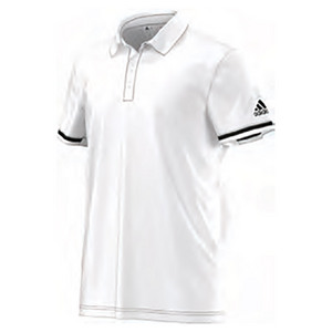 Men`s Climachill Tennis Polo White