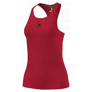 Women`s Climachill Tennis Tank Chill Ray Red