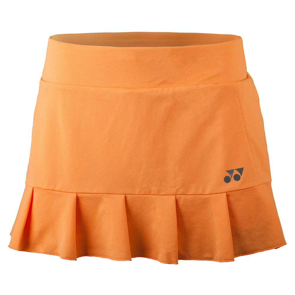 Women's French Open Bencic Tennis Skort Light Orange